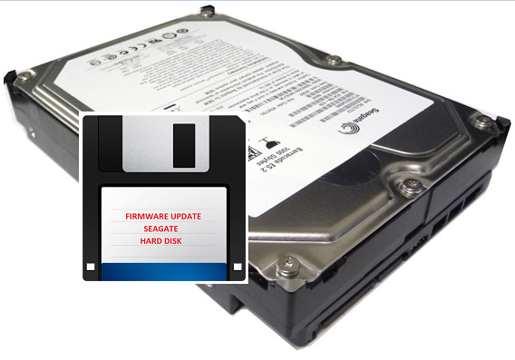 Updating Seagate Hard Disk Firmware with bootable USB